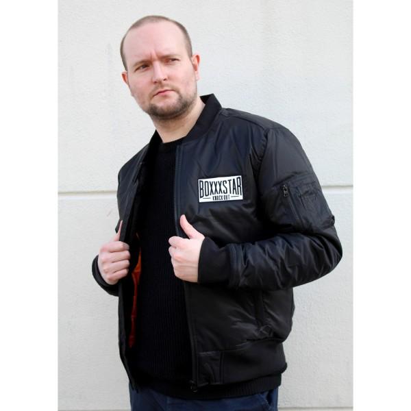 Knockout Bomberjacke (schwarz)