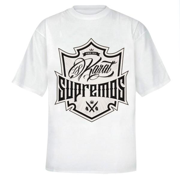 Wappen T-Shirt (weiss)