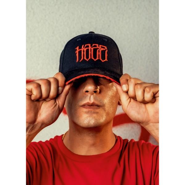 Red No 4 Cap