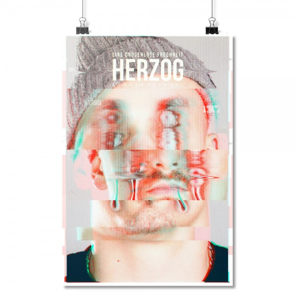 Eine drogenlose Frechheit [Poster A2]