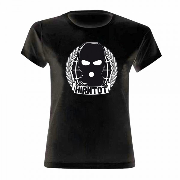 Hirntot Records - World Domination Girly Shirt [schwarz]