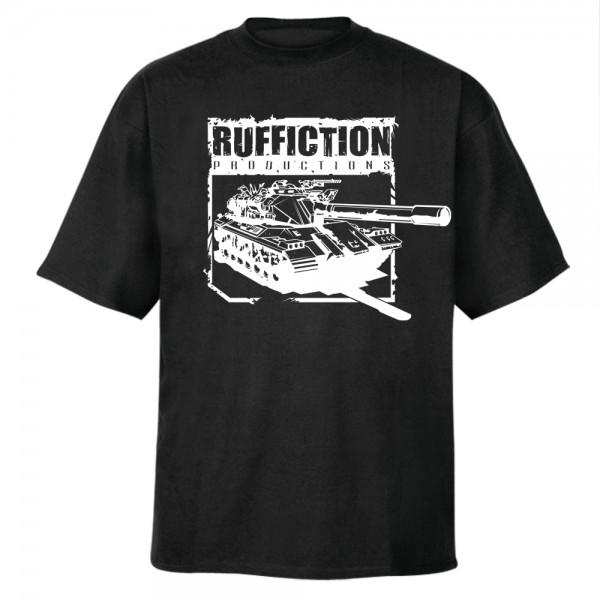 Ruffiction - Logo T-Shirt [schwarz]
