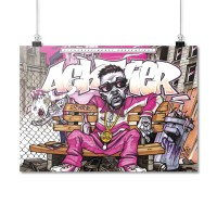 AchtVier - Mr. F [Poster A3]