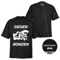 Gegen Bonzen T-Shirt [schwarz]