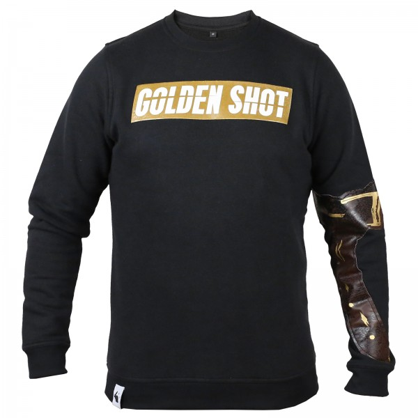 White Rabbit Clothing - Golden Shot Sweater [schwarz]