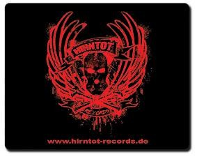 Hirntot Records - Mousepad LOGO II