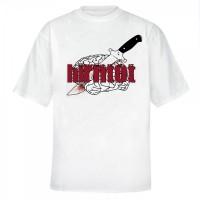 Messer T-Shirt [weiss]
