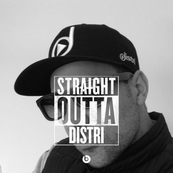 distri - Logo Snapback Cap [schwarz]