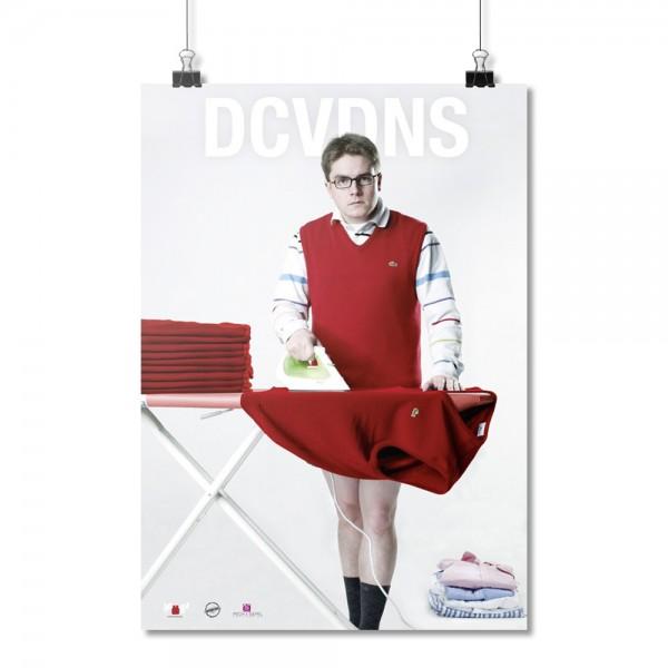 DCVDNS - Bügeleisen [Poster A1]