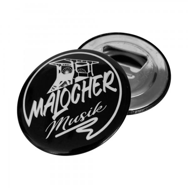 MalocherMusik Logo (Flaschenöffner mit Magnet)