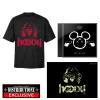Hoody - Mickey Small Brain (Fan-Bundle) schwarz/rot