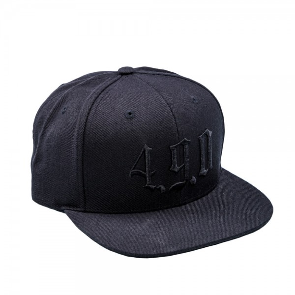 Logo Schwarz Cap