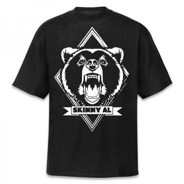 Bären Logo T-Shirt [schwarz]