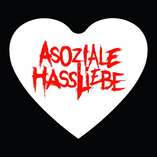 Asoziale Hassliebe Sticker