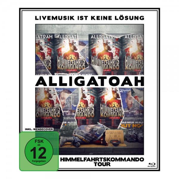 Alligatoah - Livemusik Ist Keine Lösung: Himmelfahrtskommando (Blu-ray)
