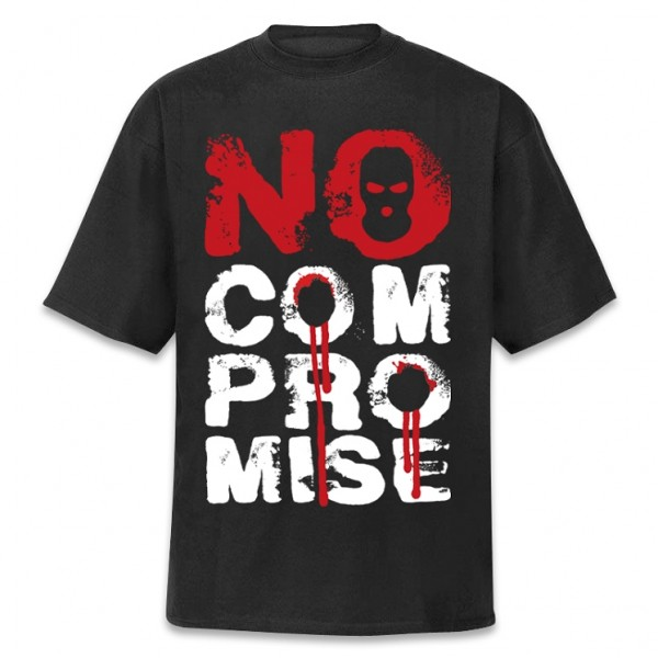 Hirntot Records - No Compromise T-Shirt [schwarz]