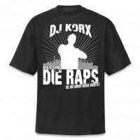 Dies sind die Raps T-Shirt [schwarz]