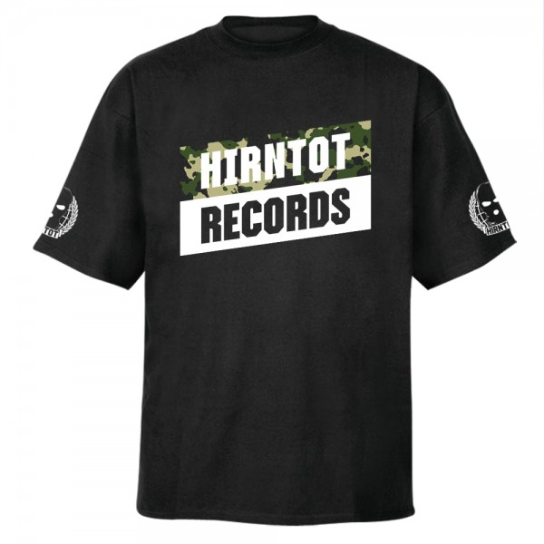 Hirntot Records - Camo Logo T-Shirt