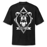Skinny Al - Bären Logo T-Shirt [schwarz]