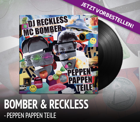 MC Bomber & Dj Reckless - Peppen Pappen Teile
