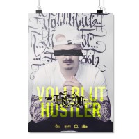Vollbluthustler [Poster A2]